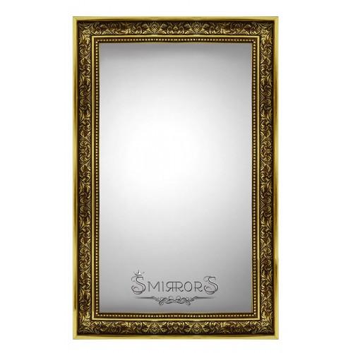 Golden forest  mirror