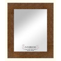 Modern mirror Amber